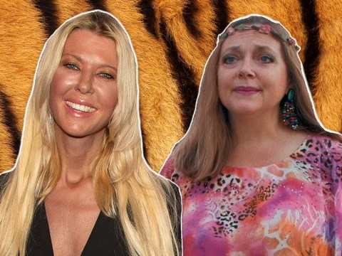 Tara Reid confirms she's in the running to play Carole Baskin in the Tiger King movie alongside Nicolas Cage