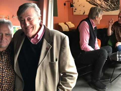 Stephen Fry recalls moment doctors told him he'd lose his life before his time 'after a terrible episode' with mental health