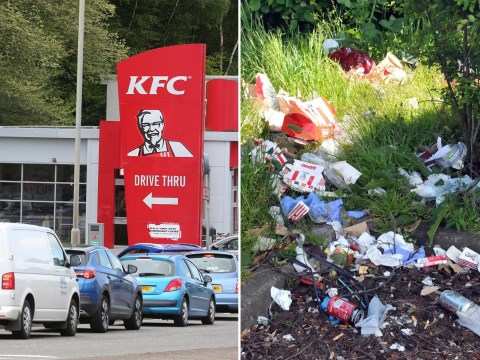 KFC tells customers 'don't be a tosser' after litter dumped on streets
