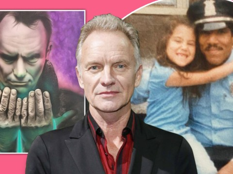 Sting fan's dying wish to give singer painting will bring tear to your eye
