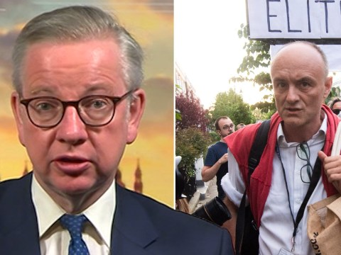Michael Gove says Dominic Cummings is 'a man of honour and integrity'