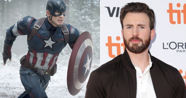 Chris Evans almost turned down Captain America role