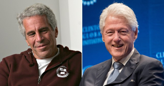 BILL CLINTON EPSTEIN