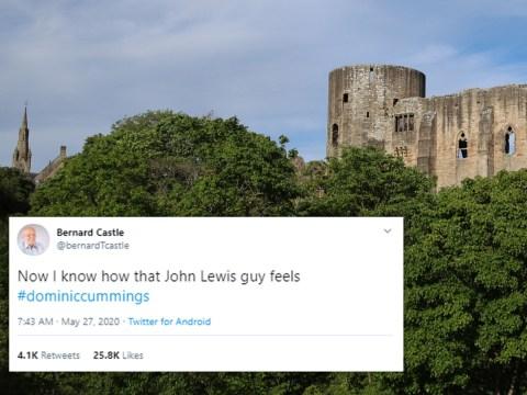 Man called Bernard Castle has been having fun on Twitter