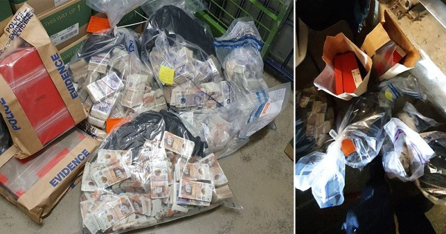 Police find £1,000,000 in man's home after pulling him over