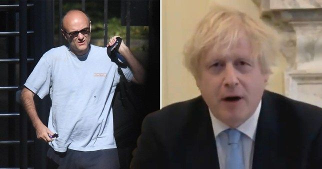 Boris Johnson faces the Commons Liaison Committee over the Dominic Cummings scandal and the UK government's handling of the pandemic.
