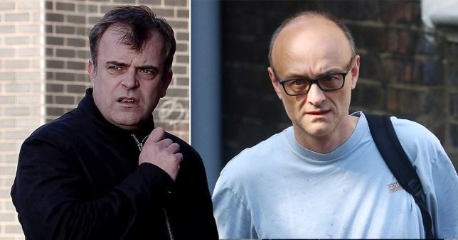 Coronation Street's Simon Gregson and Dominic Cummings