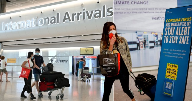 MPs demand government scraps 14-day quarantine period for UK arrivals
