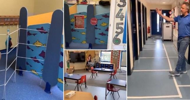 New look schools after coronavirus lockdown