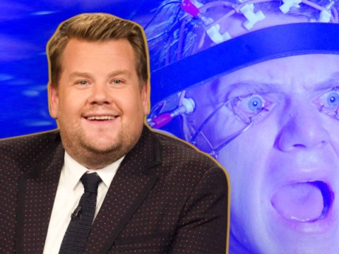 James Corden underwent immediate eye surgery while awake and we're wincing