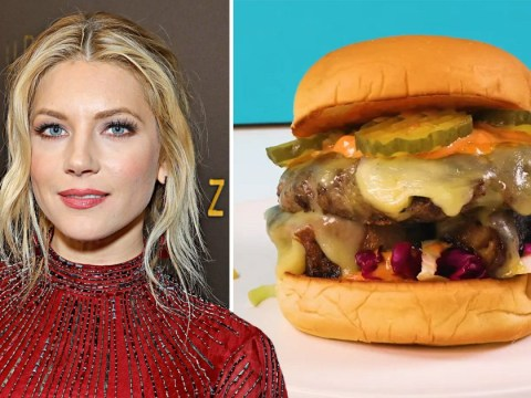 Vikings' Katheryn Winnick launches own burger to raise money for frontline workers and it looks delicious