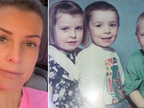 Coleen Rooney shares childhood snap with her brothers – and fans notice resemblance to son Klay