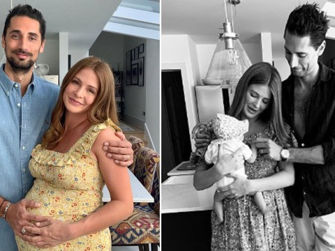 Millie Mackintosh shares first photo of baby daughter after 'best four weeks' of being a mum