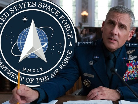 Is Space Force real and where was the Netflix series filmed?