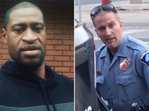 Cop Derek Chauvin who was filmed kneeling on George Floyd's neck charged with murder