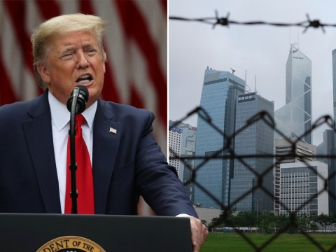 Donald Trump cut US ties with Hong Kong over China's 'smothering' of its freedoms