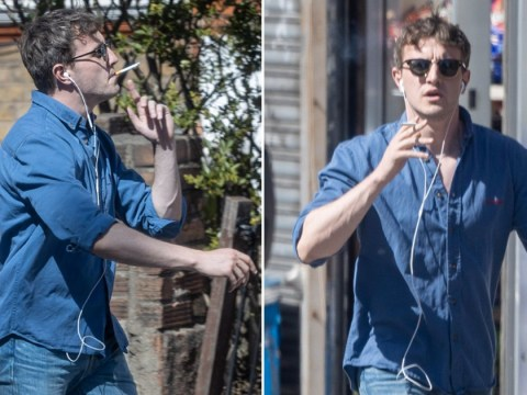 Normal People's Paul Mescal clearly torturing us as he rocks double denim during daily walk