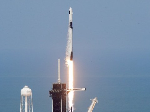 Historic SpaceX Dragon mission lifts-off from Nasa's Kennedy Space Center