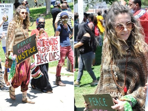 'Don't tell me to sit this one out': Paris Jackson joins George Floyd protests as she advocates for peace