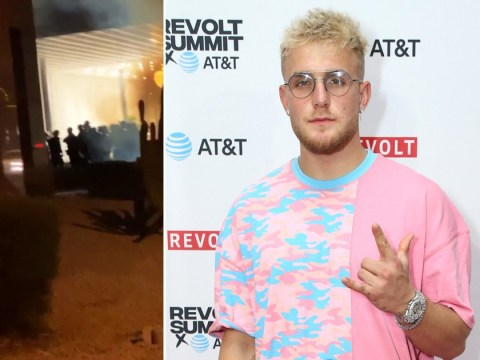 Jake Paul insists he 'didn't engage in any looting' during George Floyd protests but documented it to raise awareness
