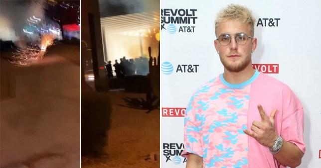 YouTuber Jake Paul accused of looting amid George Floyd protests