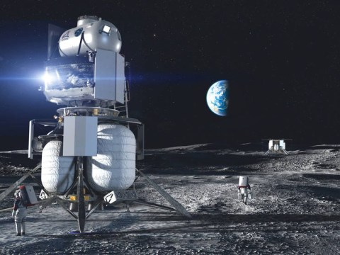 Nasa picks designs for spacecraft to take astronauts back to the moon