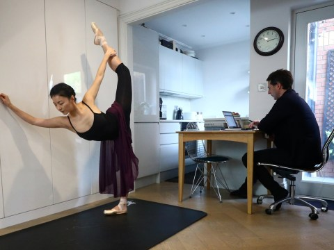 Royal Ballet soloist practising in her Wimbledon flat is proof you don't need a studio to throw moves