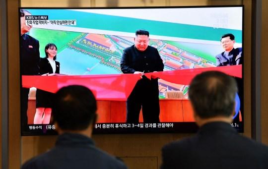 Kim Jong-Un ouvre une usine