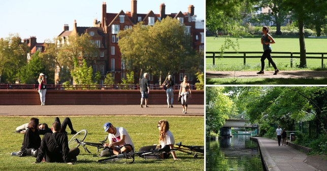 Britons will be allowed to exercise several times each day and drive to the countryside for walks and picnics in the first stage of relaxing lockdown (Picture: Getty)