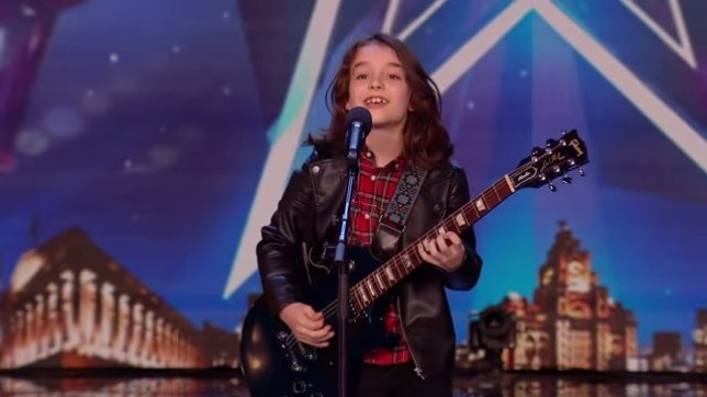 BGT unseen clip sees 10-year-old wow the judges (Picture: ITV)