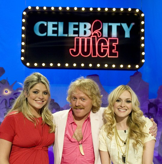 Editorial use only Mandatory Credit: Photo by ITV/REX (980977ai) 'Celebrity Juice' - Holly Willoughby, Keith Lemon and Fearne Cotton ITV ARCHIVE