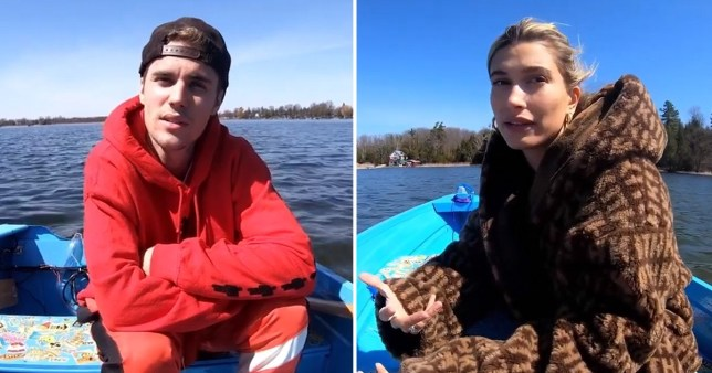 The Biebers on Facebook Watch - Justin and Hailey Bieber premiere exclusive show (Picture: Justin Beiber/Facebook)