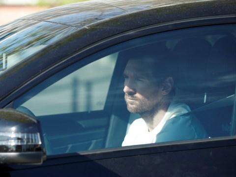 Lionel Messi undergoes coronavirus test at Barcelona training as La Liga stars prepare for season restart