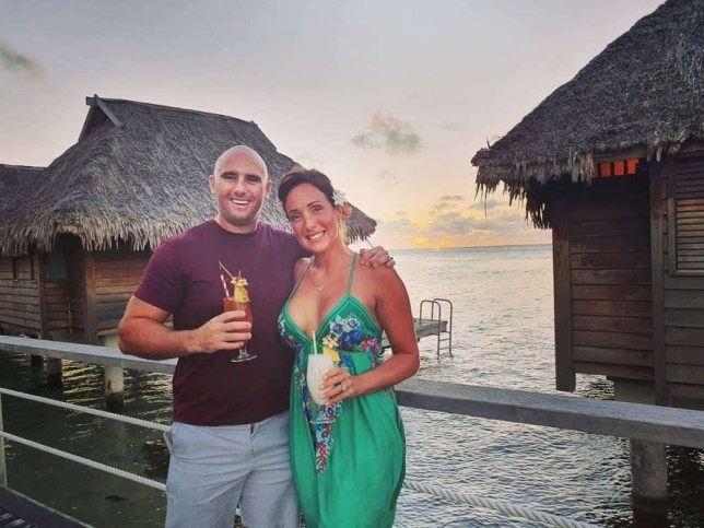 Laura Fisher, 36, and Barry McNeice, 35, who have travelled the world for the last 18 months by looking after people's pets