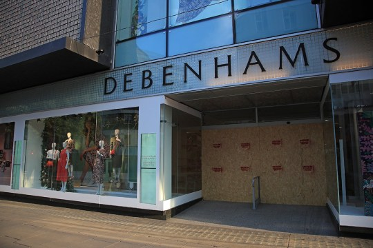 A branch of Debenhams