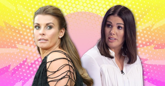 Coleen Rooney and Becky Vardy at 'loggerheads' over Wagatha Christie drama (Picture: Rex, Getty)