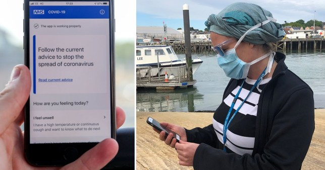 Fatal flaw in new NHS coronavirus track and trace app (Picture: PA, Reuters)