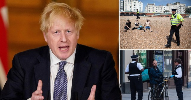 Boris to increase fines for lockdown flouters (Picture: Getty)