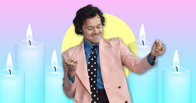 Harry Styles' Target candle sells out everywhere (Picture: Getty, Target)