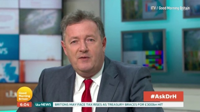 Piers Morgan completely safe from Susanna Reid as she promises not to break social distancing to hug him ITV