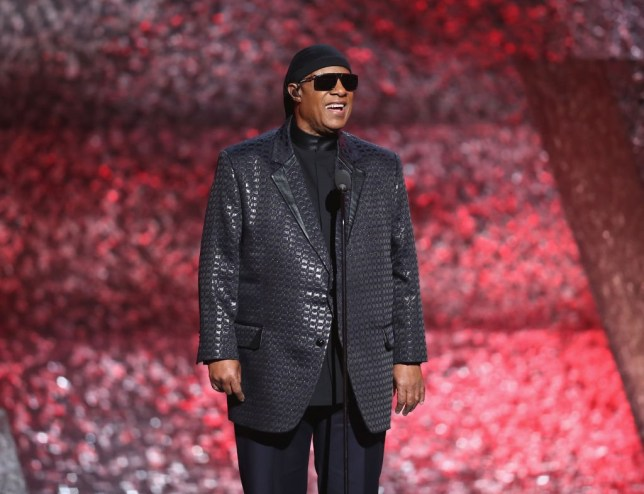 LOS ANGELES, CA - FEBRUARY 12: Stevie Wonder speaks onstage during Motown 60: A GRAMMY Celebration at Microsoft Theater on February 12, 2019 in Los Angeles, California. (Photo by Rich Polk/Getty Images for The Recording Academy)