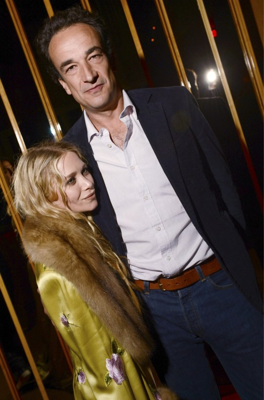 Mary-Kate Olsen and Olivier Sarkozy attend the 2013 Met Costume Institute after party