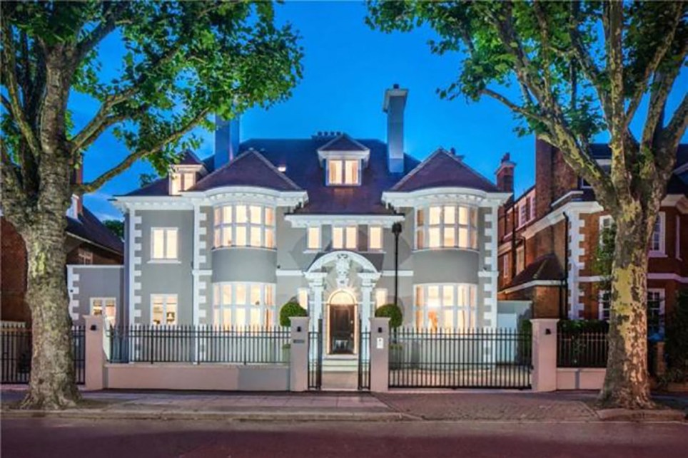 Eight-bed London property for sale with a wine cellar and a cinema