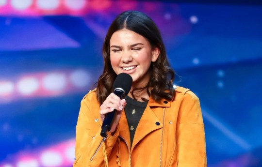 STRICTLY EMBARGOED, NO USE BEFORE 00.01am GMT 16th May 2020. Editorial use only. No book publishing. Mandatory Credit: Photo by Dymond/Thames/Syco/REX (10647739k) Sirine Jahangir 'Britain's Got Talent' TV Show, Series 14, Episode 6, UK - 16 May 2020