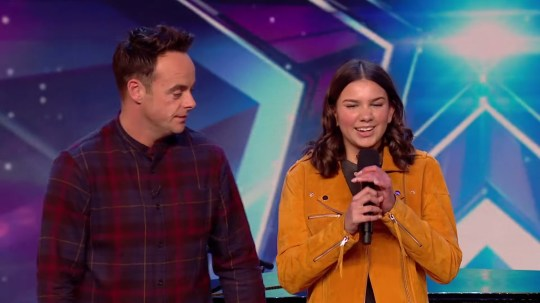 BGT blind singer has everyone in tears (Picture: ITV)