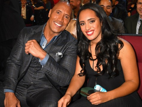 Dwayne Johnson is the proudest dad ever that daughter Simone is following in his WWE footsteps