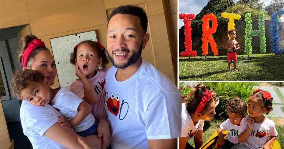Chrissy Teigen throws son Miles epic birthday party