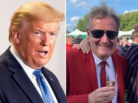 Piers Morgan reveals father has been taking Donald Trump drug hydroxychloroquine for six years