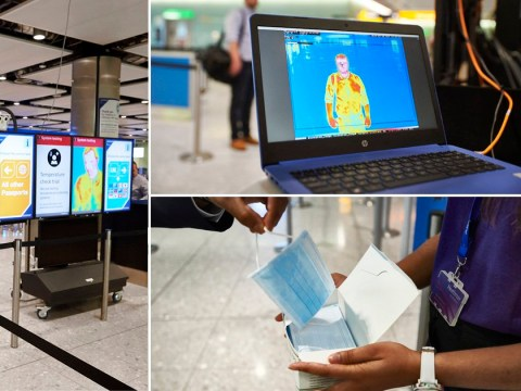 Heathrow Airport tests out temperature screening for passengers