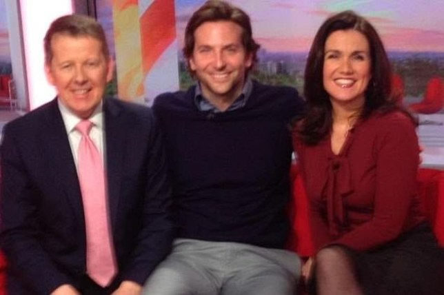 Susanna Reid when she was on BBC breakfast Screengrab